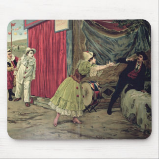 Scene from the opera 'Pagliacci' Mouse Pad