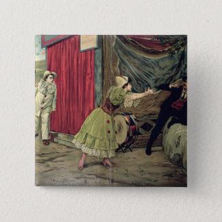 Scene from the opera 'Pagliacci' Pinback Button