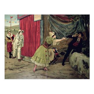 Scene from the opera 'Pagliacci' Postcard