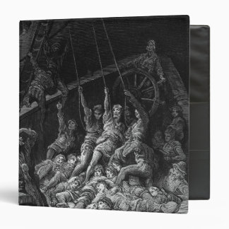 Scene from 'The Rime of the Ancient Mariner' 2 Binder