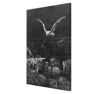 Scene from 'The Rime of the Ancient Mariner' 2 Gallery Wrap Canvas