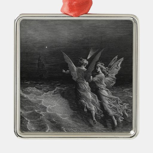 Scene from 'The Rime of the Ancient Mariner' 2 Ornaments
