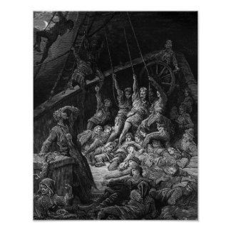 Scene from 'The Rime of the Ancient Mariner' 2 Print
