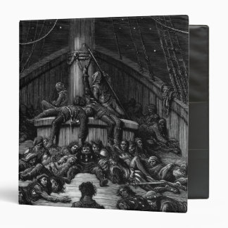 Scene from 'The Rime of the Ancient Mariner' 3 3 Ring Binder