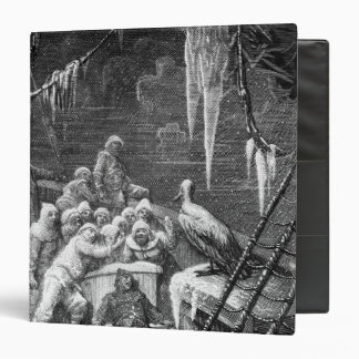 Scene from 'The Rime of the Ancient Mariner' 3 Binder