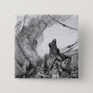 Scene from 'The Rime of the Ancient Mariner' 3 Button