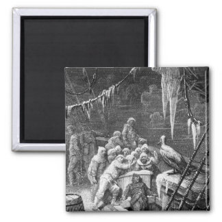Scene from 'The Rime of the Ancient Mariner' 3 Magnet
