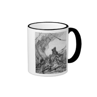 Scene from 'The Rime of the Ancient Mariner' 3 Mugs