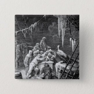 Scene from 'The Rime of the Ancient Mariner' 3 Pinback Button