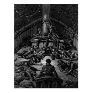 Scene from 'The Rime of the Ancient Mariner' 3 Postcard