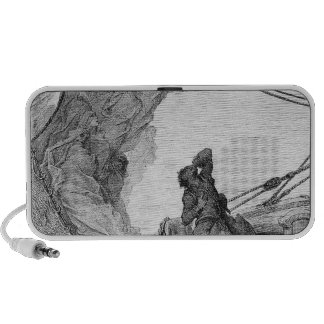 Scene from 'The Rime of the Ancient Mariner' 3 Laptop Speaker