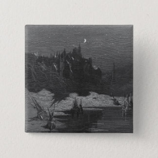 Scene from 'The Rime of the Ancient Mariner' 4 Pinback Button