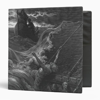 Scene from 'The Rime of the Ancient Mariner' Binder