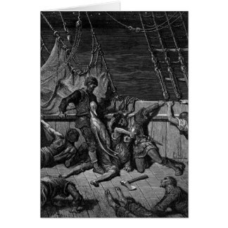 Scene from 'The Rime of the Ancient Mariner' Card