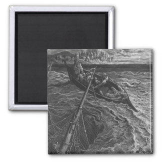 Scene from 'The Rime of the Ancient Mariner' Magnet