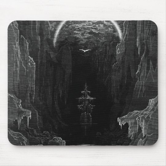 Scene from 'The Rime of the Ancient Mariner' Mouse Pad