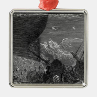 Scene from The Rime of the Ancient Mariner Christmas Tree Ornaments