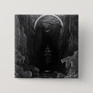 Scene from 'The Rime of the Ancient Mariner' Pinback Button