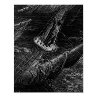 Scene from 'The Rime of the Ancient Mariner' Poster