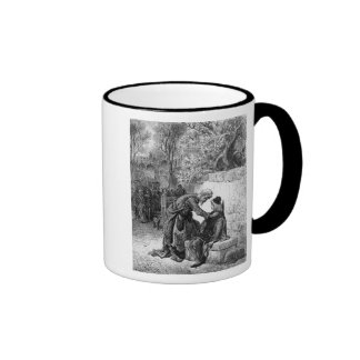 Scene from 'The Rime of the Ancient Mariner', Ringer Mug