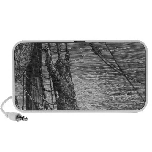 Scene from 'The Rime of the Ancient Mariner' Travelling Speaker