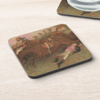 Scene from the Steeplechase: The Fallen Drink Coasters