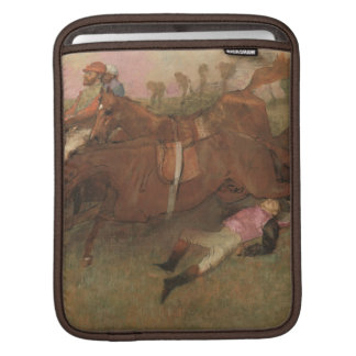 Scene from the Steeplechase: The Fallen iPad Sleeves