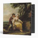 Scene Galante, 1774 Vinyl Binder