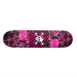 Scene Girl Skateboard Deck
