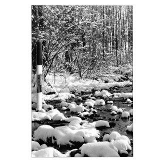Scene Icy Cold River Ontario Dry-Erase Board
