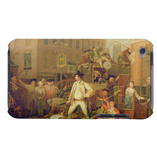 Scene in a London Street, 1770 (oil on canvas) Barely There iPod Cover