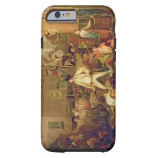 Scene in a London Street 1770 oil on canvas iPhone 6 Case