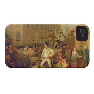Scene in a London Street 1770 oil on canvas iPhone 4 Cover