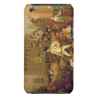 Scene in a London Street, 1770 (oil on canvas) iPod Touch Case
