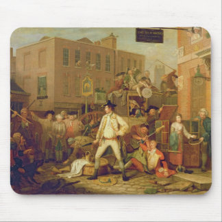 Scene in a London Street, 1770 (oil on canvas) Mouse Pad