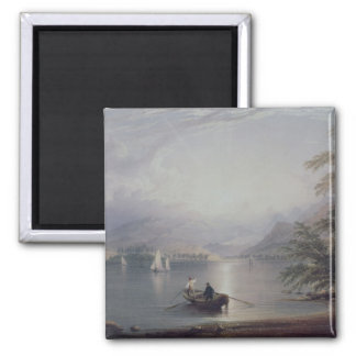 Scene in the English Lake District 2 Inch Square Magnet