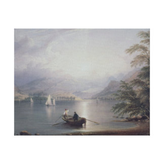 Scene in the English Lake District Canvas Print