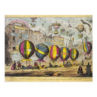 Scene in the Farce 'Lofty Prospects' Postcard