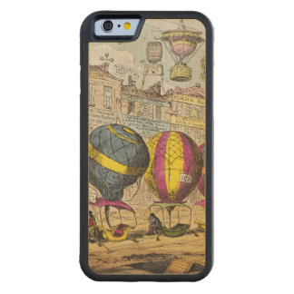 Scene in the Farce 'Lofty Prospects' Carved® Maple iPhone 6 Bumper