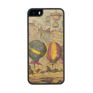 Scene in the Farce 'Lofty Prospects' Carved® Maple iPhone 5 Slim Case