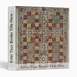 Scene Lindisfarne Gospels: Carpet Page By Meister Vinyl Binders