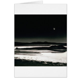 Scene Moonrise Negit Island Card