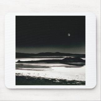 Scene Moonrise Negit Island Mouse Pad