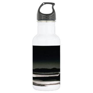 Scene Moonrise Negit Island Water Bottle