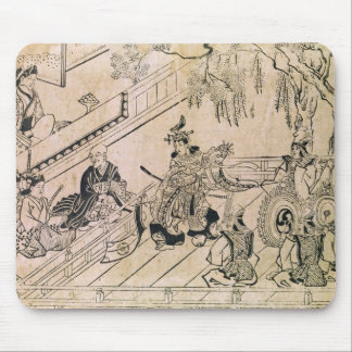 Scene of a Sacred Dance Mouse Pad