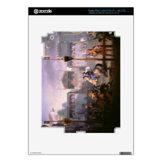 Scene of a Tournament in the Fourteenth Century, 1 iPad 3 Decals