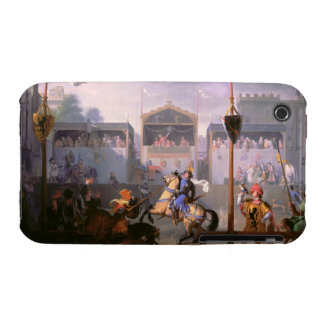 Scene of a Tournament in the Fourteenth Century, 1 iPhone 3 Case-Mate Case