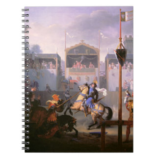Scene of a Tournament in the Fourteenth Century, 1 Notebook