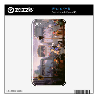Scene of a Tournament in the Fourteenth Century, 1 Skins For iPhone 4S