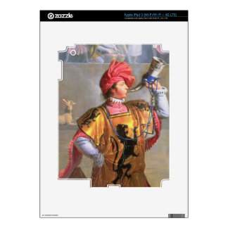 Scene of a Tournament in the Fourteenth Century, d iPad 3 Decals